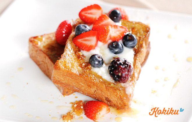 Resep French Toast Kokiku Tv Resep Makanan