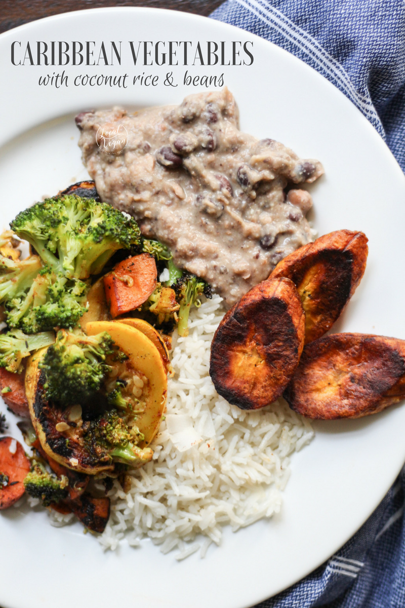 Caribbean vegetables with coconut rice healthy vegan dinner caribbean vegetables with coconut rice healthy vegan dinner recipes plantbased cleaneating forumfinder Gallery
