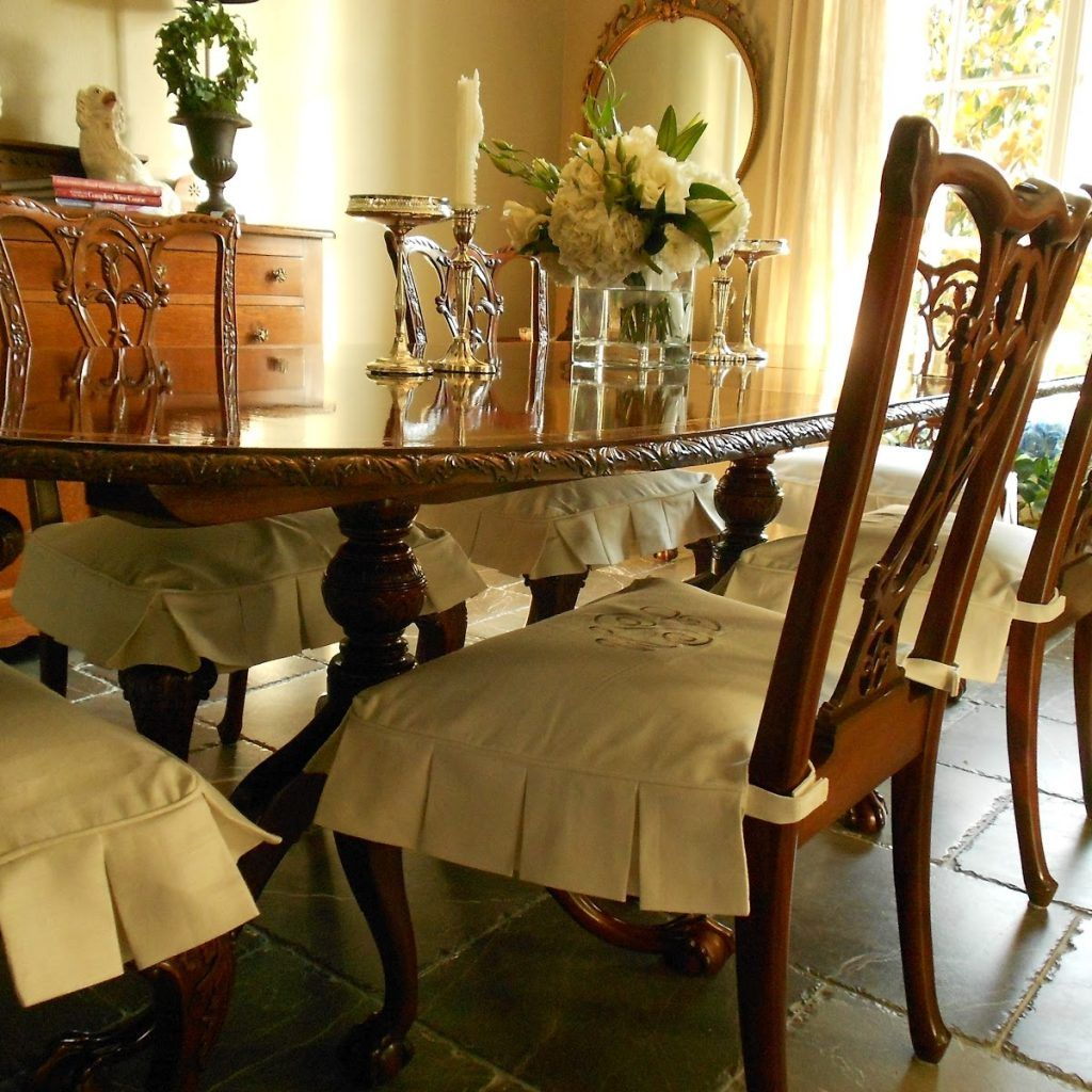 Formal Dining Room Chair Slipcovers Dining Room Chair Slipcovers
