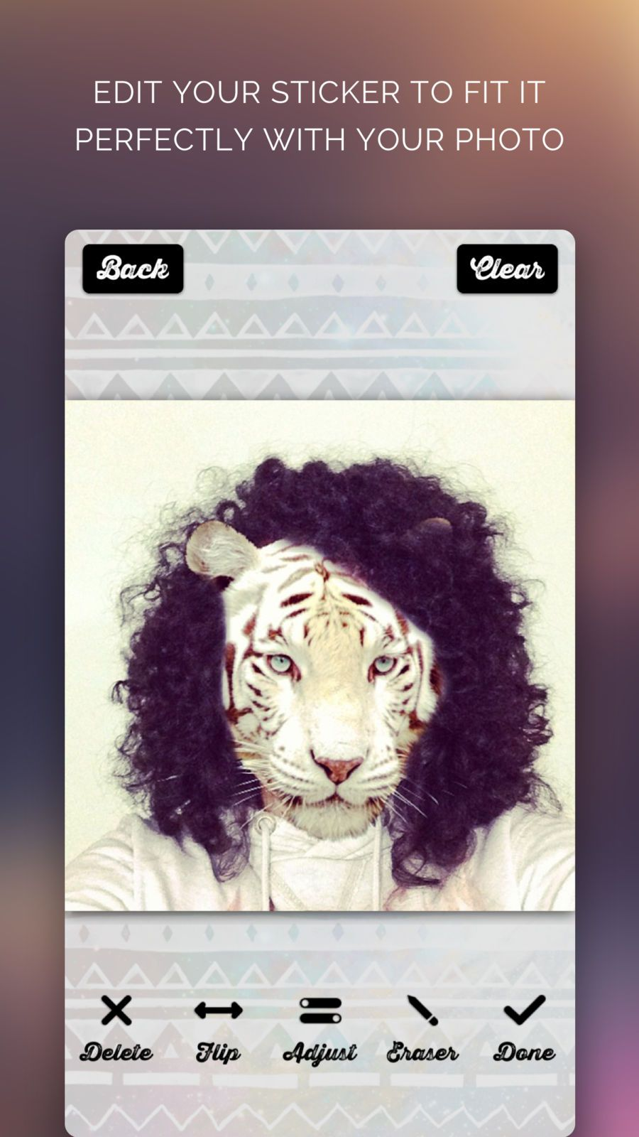 Animal Face IG Selfie Editor LLCAppsTigerVideo