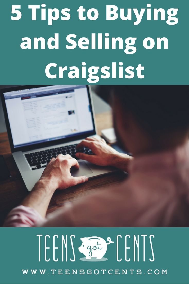 Craigslist 5 tips to buying and selling successfully