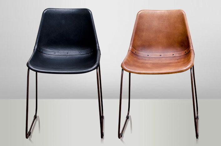 Cool Upholstered With Goat Leather The Catina Chair Comes In Both Andrewgaddart Wooden Chair Designs For Living Room Andrewgaddartcom