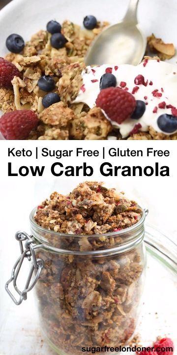 Low Carb Granola (Keto, Sugar Free) – Sugar Free L