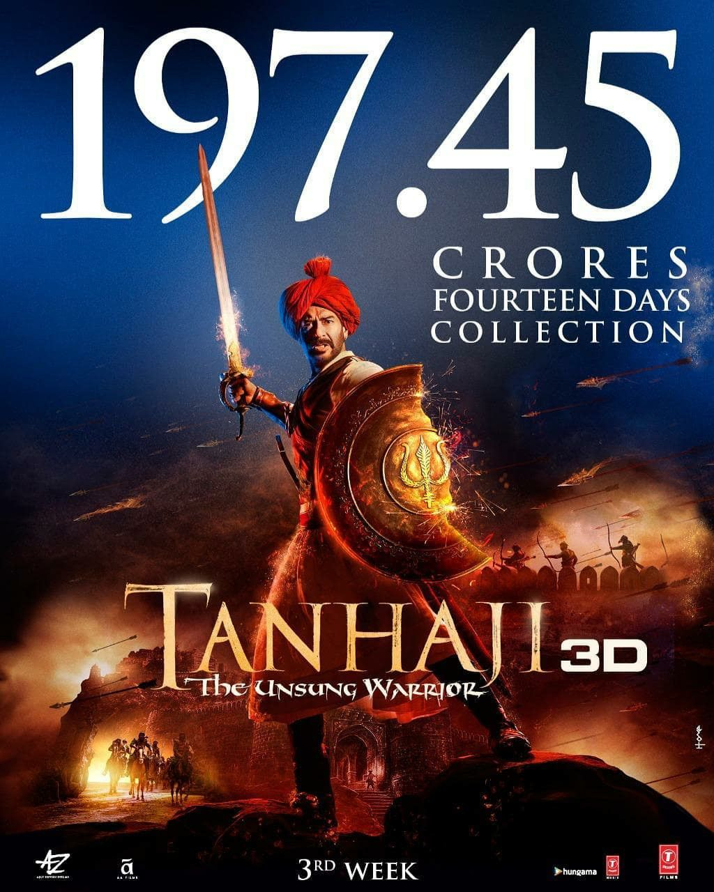 Tanhaji Box Office Collection Day Wise   Verdicts Hits or ...