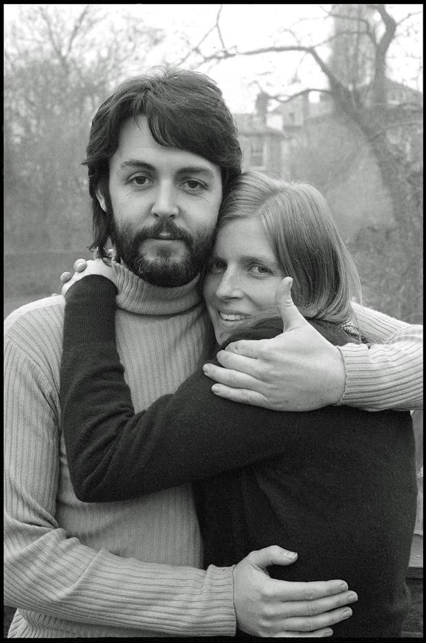Linda Eastman Paul McCartney