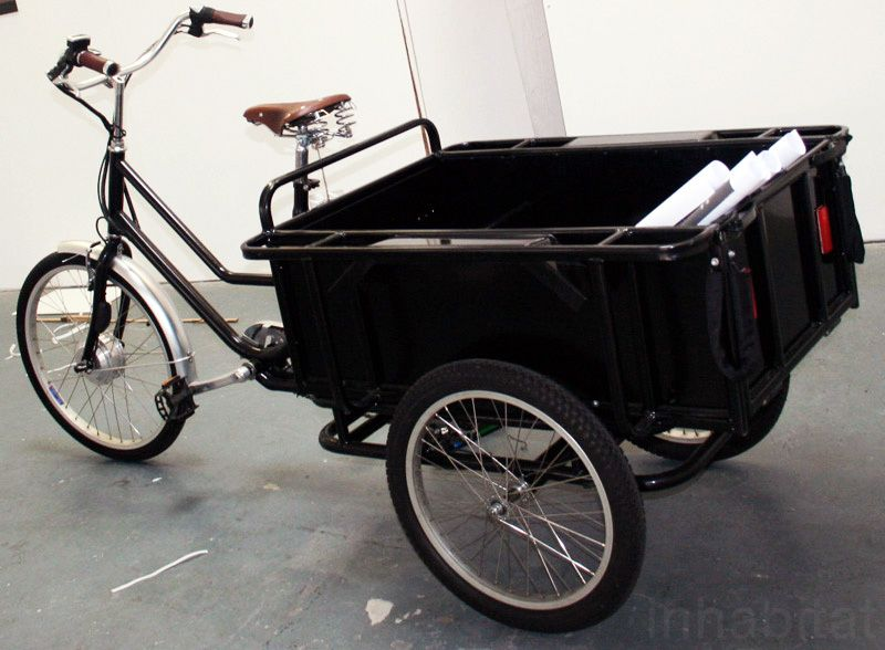 Sanitov Launches Cargo Bike With Gps Technology In London Cargo