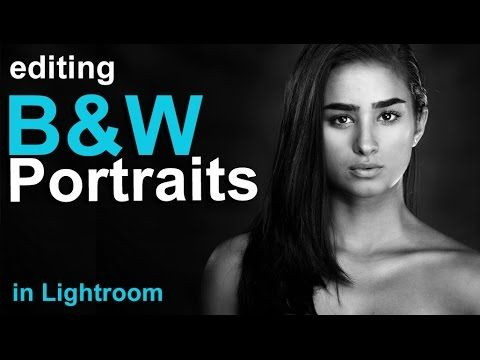 How to edit a portrait in lightroom