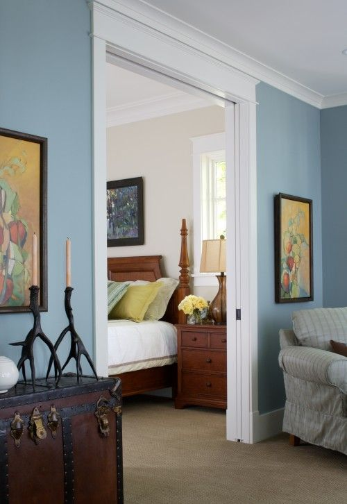 Blue Bedroom Design Ideas Pictures Remodel And Decor Blue Bedroom Design Traditional Bedroom Design Bedroom Design