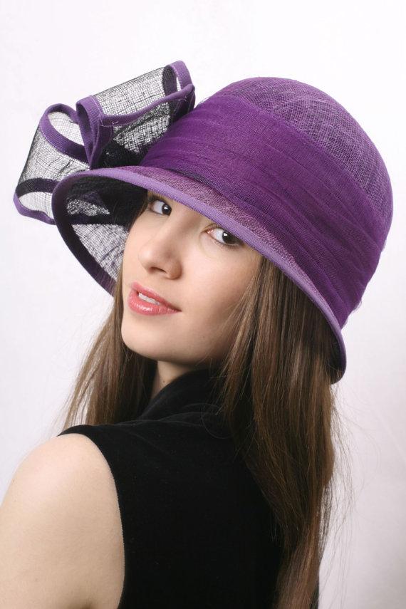 Purple derby hat 9404dbb20dc