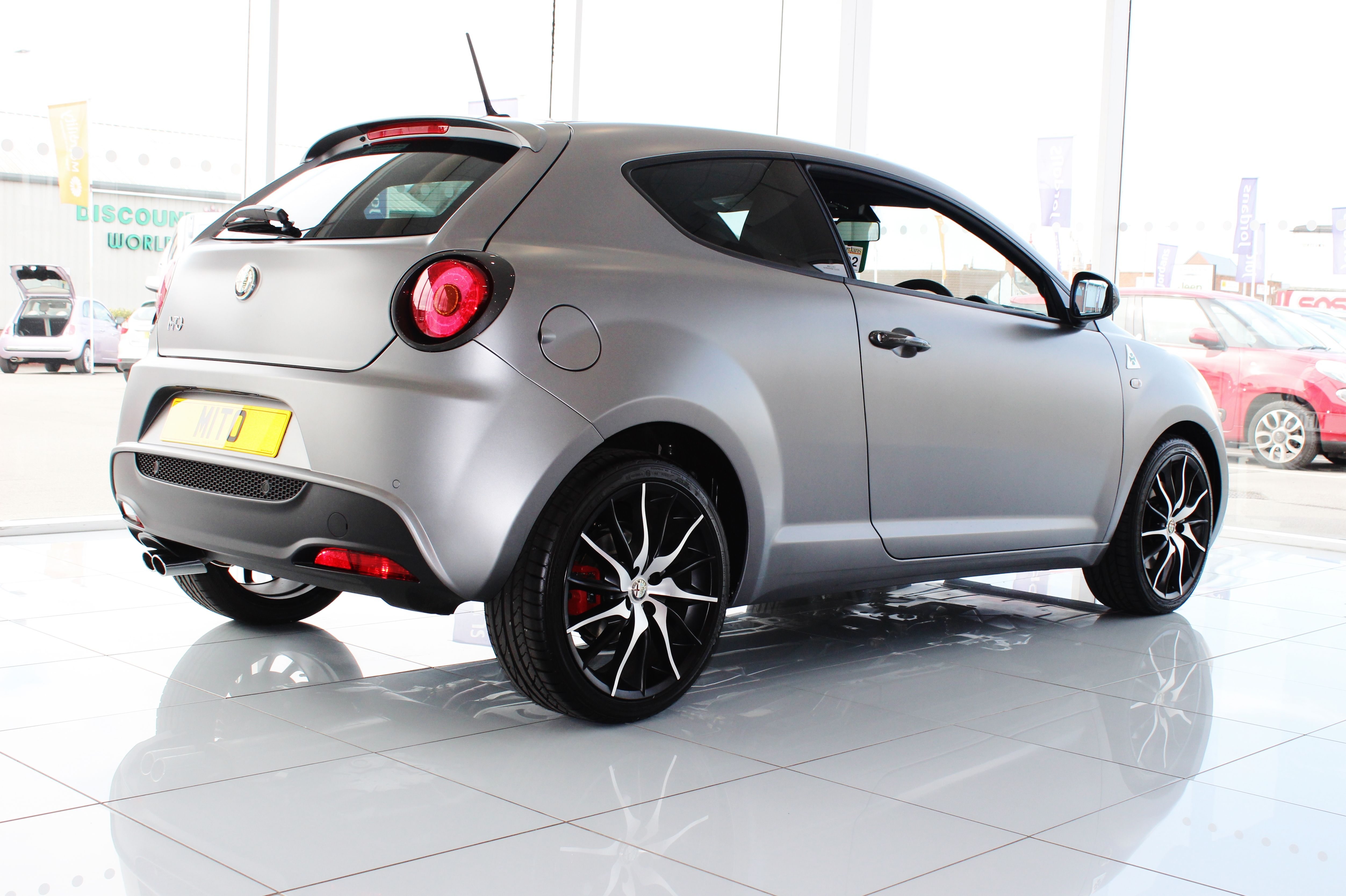 The latest Alfa to join our showroom collection the new Alfa Romeo