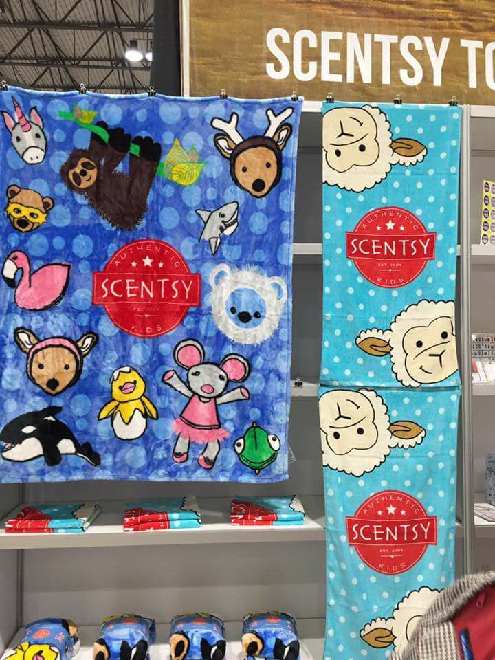 Scentsy 2017 Fall Winter New Scentsy Blanket And Towel