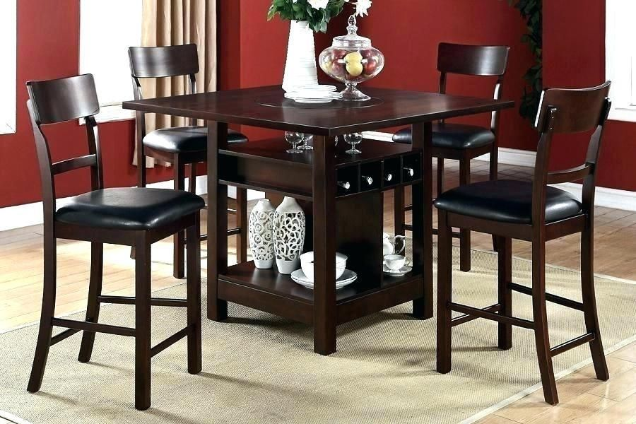 More Click Black Bar Height Table Height Kitchen High Dining