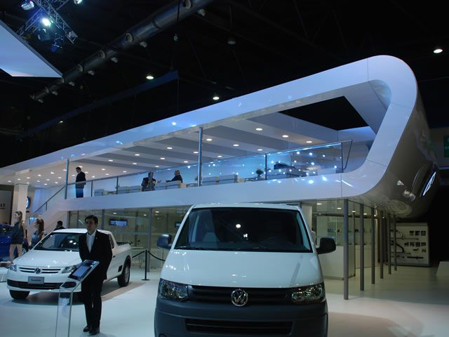 Booth design volkswagen booths international car shows for Garage volkswagen moulins