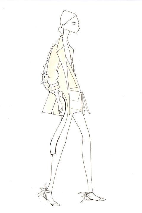 Designer Fashion Week Inspiration Spring 2015 misha noono
