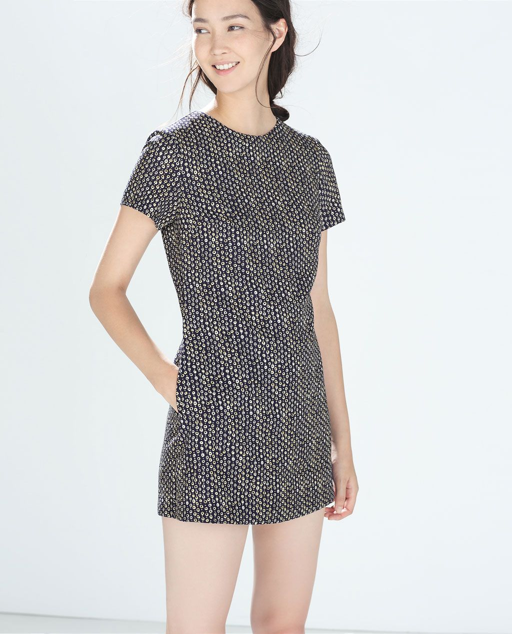 6a65c2e76a Image 2 of PRINTED JUMPSUIT DRESS from Zara
