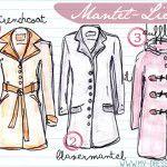 Mantel - Grundformen und Looks