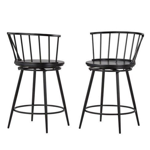Amazing 24 Set Of 2 Norfolk Low Windsor Counter Stool Inspire Q Unemploymentrelief Wooden Chair Designs For Living Room Unemploymentrelieforg