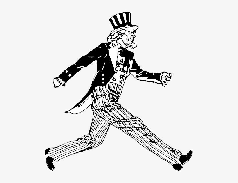 Download Free Png Uncle Sam Clipart Black And White Original Uncle Sam Cartoon Dlpng Com Clipart Black And White Uncle Sam Black And White