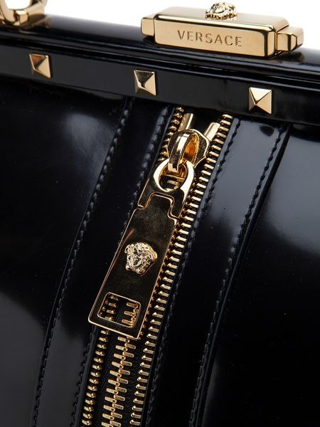 Versace Satchel Bag in Black  eb1d1244bede4