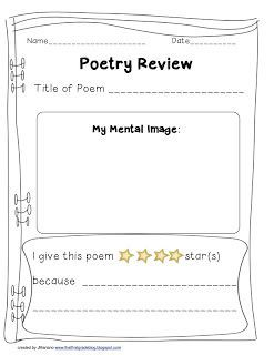 poetry response sheets grade one google search poetry poetry no response writer workshop. Black Bedroom Furniture Sets. Home Design Ideas