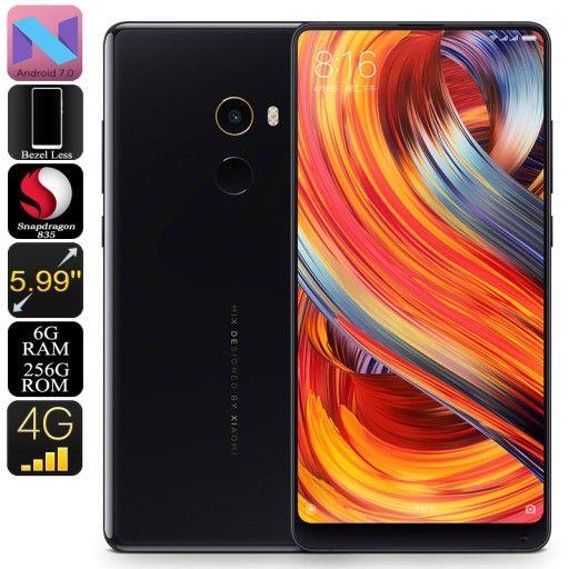 Xiaomi Mi Mix 2 Android Phone 256gb Black 6998521340 Oficjalne Archiwum Allegro Android Phone Xiaomi Android Smartphone