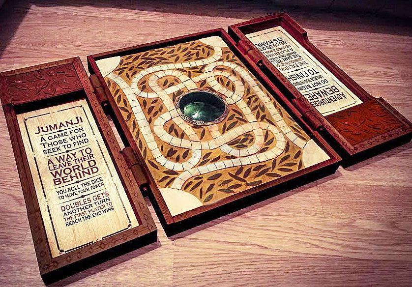 Jumanji Game Board Replica (met afbeeldingen)