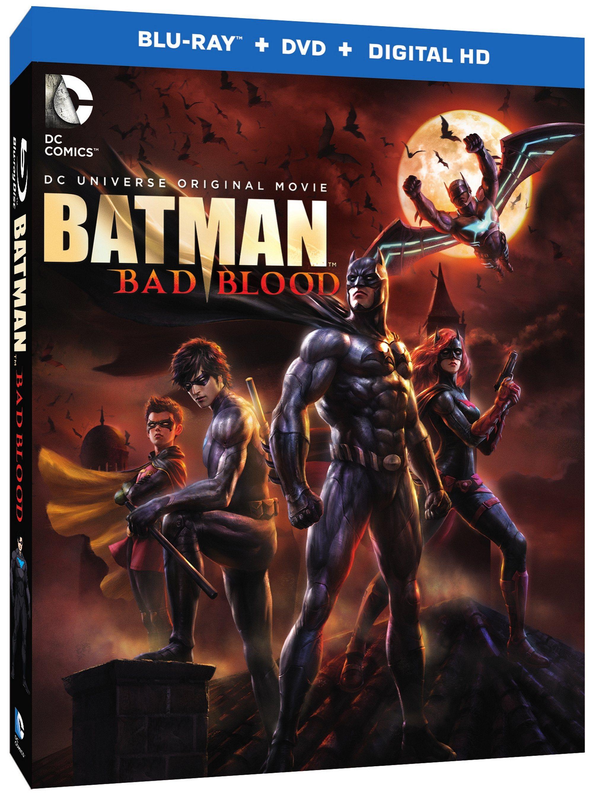 Dc Animated Movies Batman Bad Blood 2016 Bad Blood Batman Nightwing