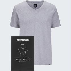 Photo of T-Shirt aus aktiver Baumwolle, grau meliert Strellson