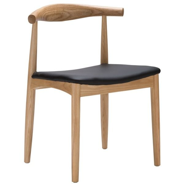 Poly and Bark Keren Solid Wood Dining Chair (With images