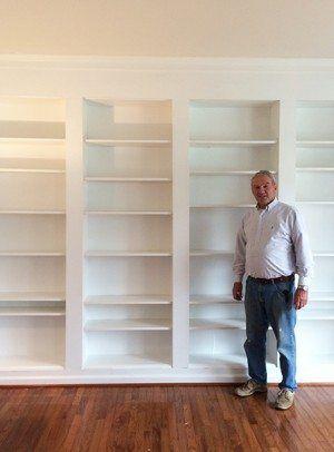 How to make book shelves