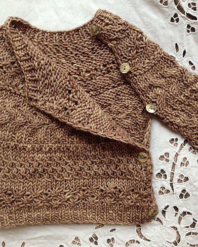 Hygge Baby pattern by Loop London | Strickvorlage, Kinderkleider und ...
