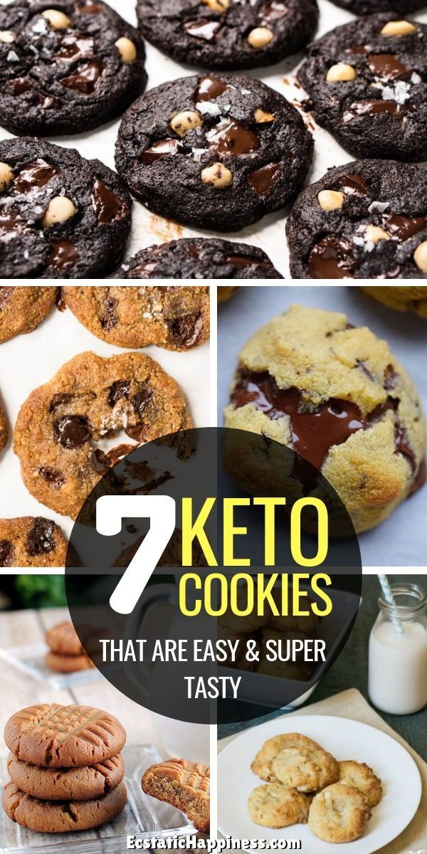 7 Keto Cookies Recipes that literally Melt In Your Mouth #ketocookierecipes
