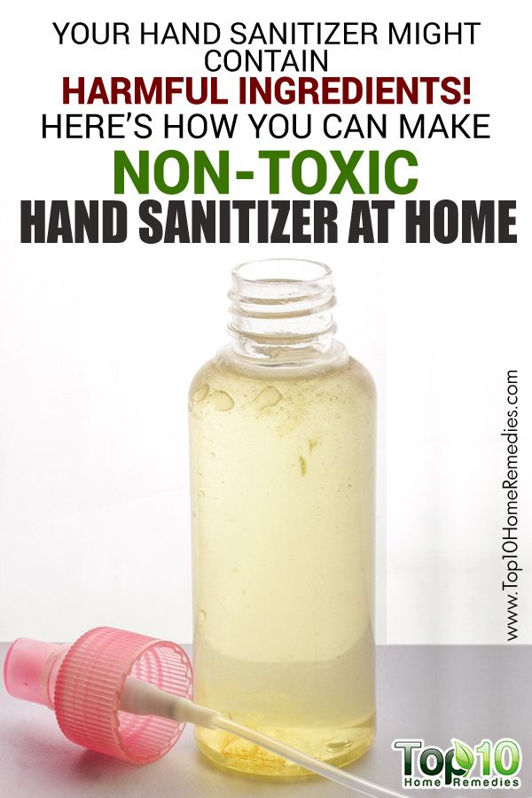 Your Homemade Hand Sanitizer Might Contain Harmful Ingredients