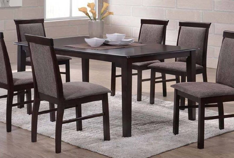Ashton 6 Seaters Dining Table Table Wooden Dining Tables