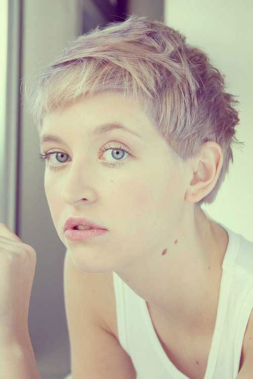 Prime 49 Funky Color Idea For Super Short Hairstyles Cool Amp Trendy Short Hairstyles Gunalazisus