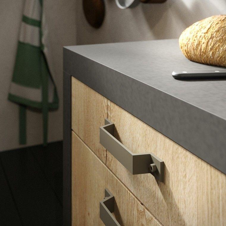 muebles de cocina de madera y peltro Baños Pinterest Muebles - muebles para cocina de madera