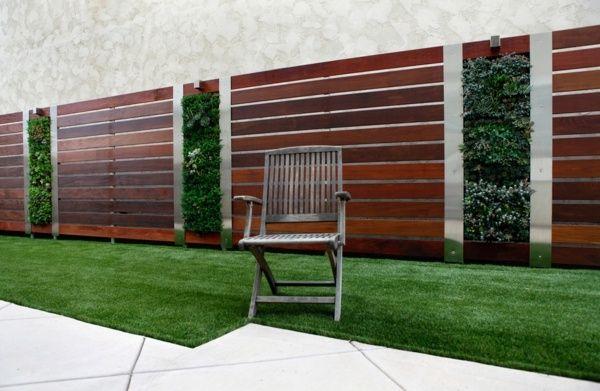 Choisir une cl ture de jardin appropri e votre propri t for Recouvrement pour galerie