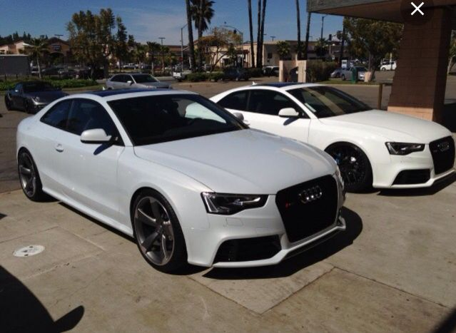Suzuka Grey And Ibis White Audi Rs5 S Audi Pinterest