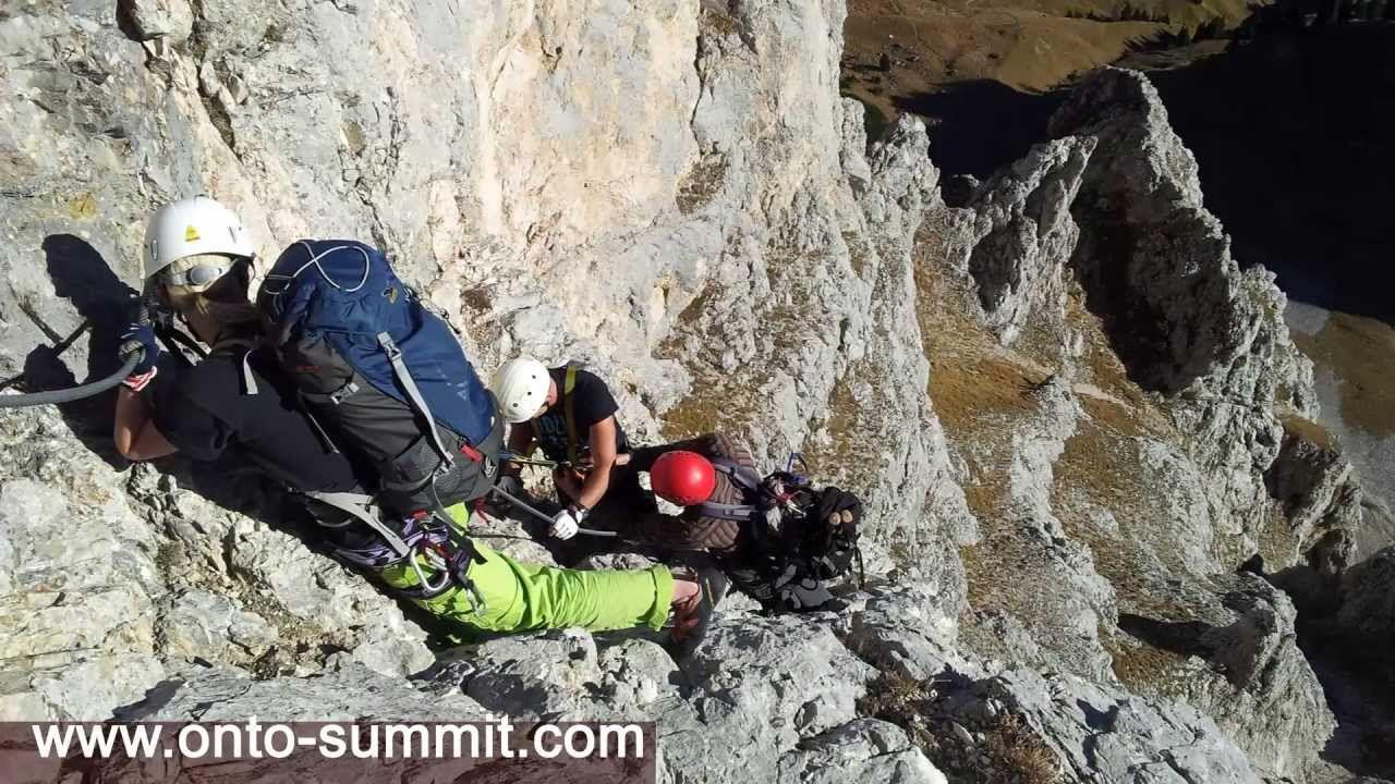 Klettersteig Schwierigkeitsgrad : Der köllenspitz köllespitz kellenspitz klettersteig vom