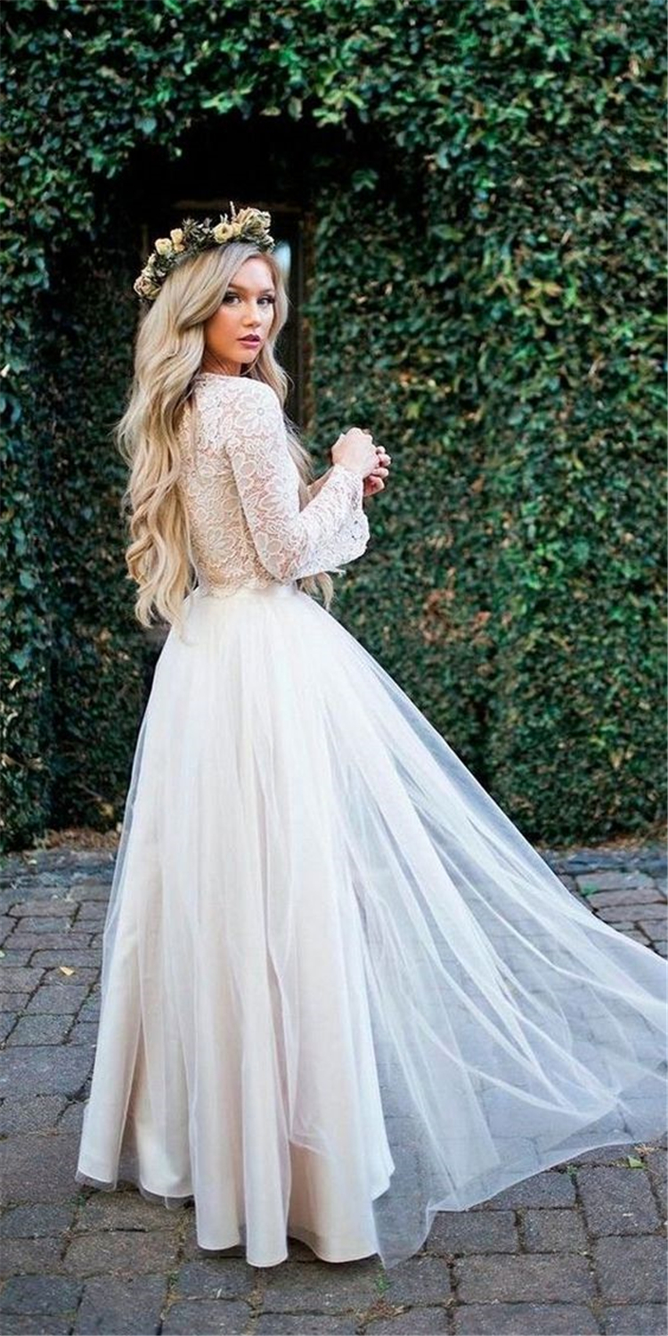 65 And Charming Fall/Winter Wedding Dresses You
