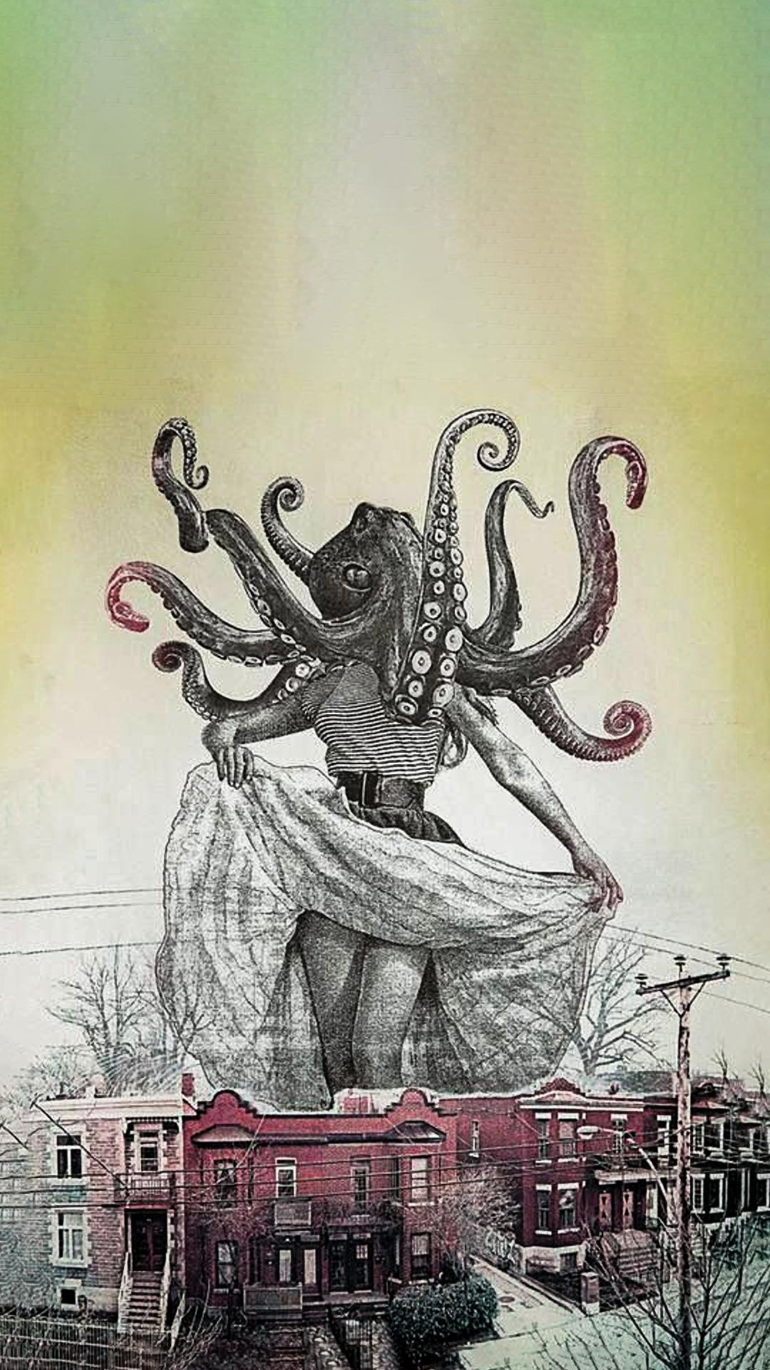 Cthulhu Woman [Art By Jason Contoro] Download at: http://www.myfavwallpaper.com/2018/02/cthulhu-woman-art-by-jason-contoro.html #iphonewallpaper #phonewallpaper #background #wallpaper #myfavwallpaper
