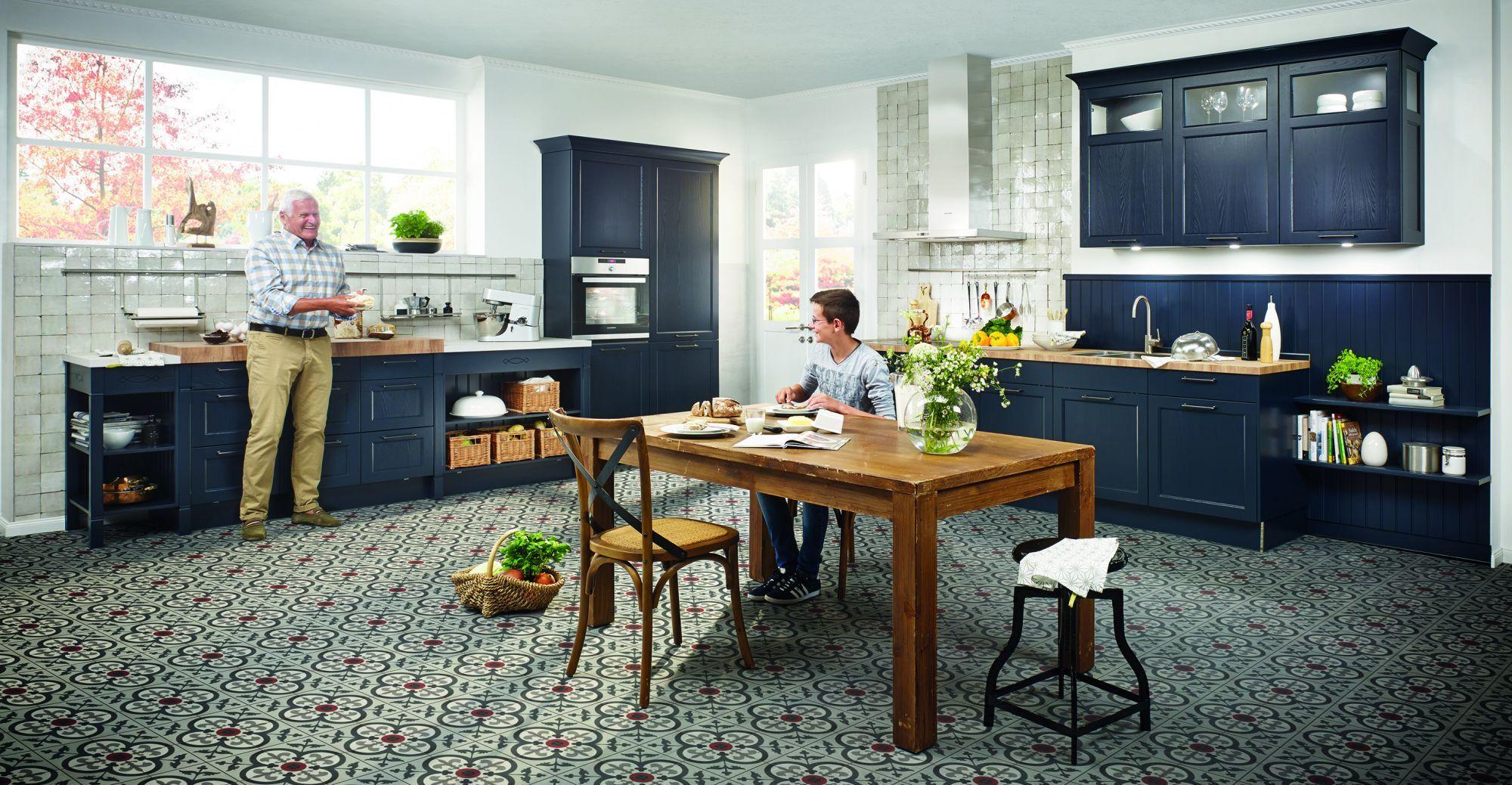 Bristol   Velvet blue - Häcker Küchen - Häcker Küchen   Mutfak ...