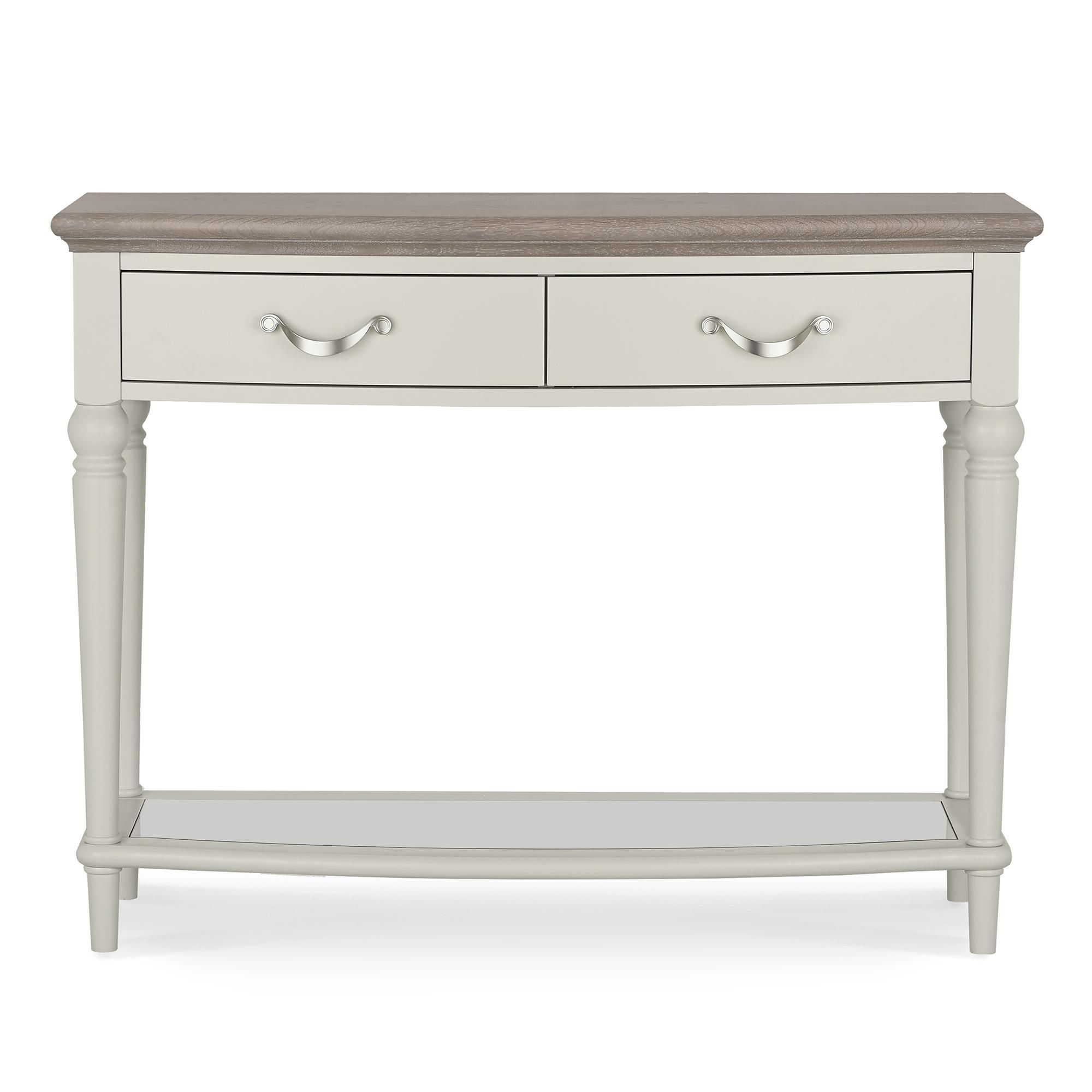 Sophia Grey Console Table In 2020 Gray Console Table Console Table Table