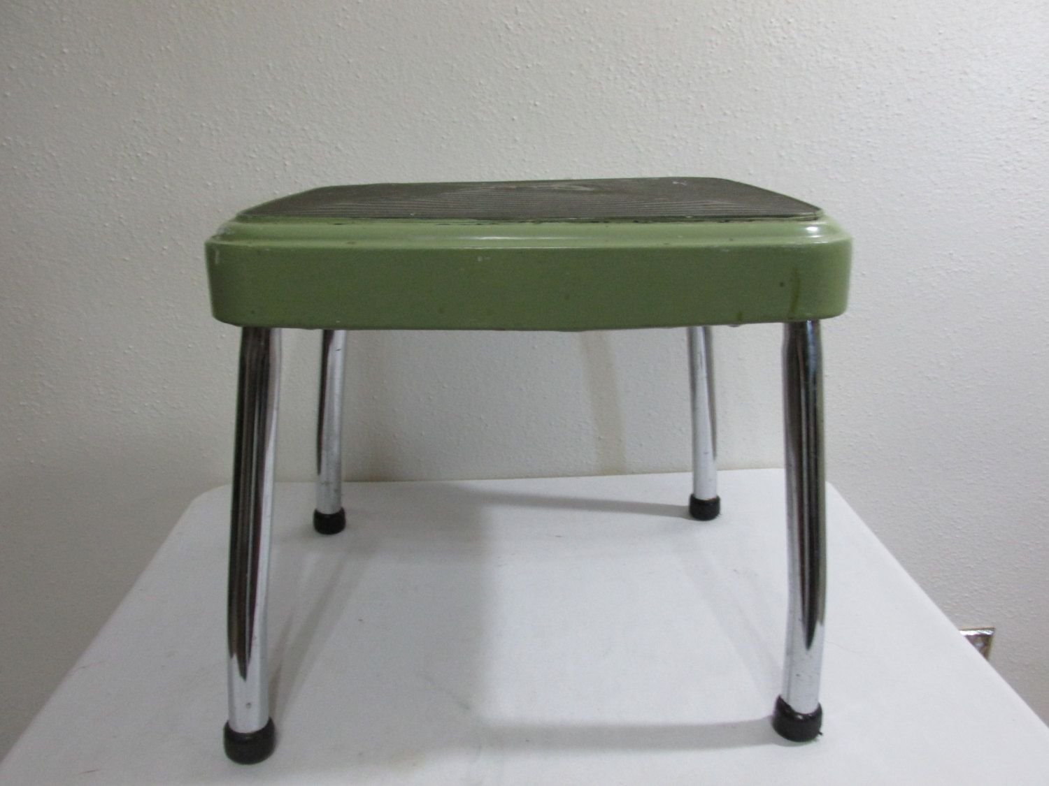 Step Stool Metal Cosco by LuRuUniques on Etsy