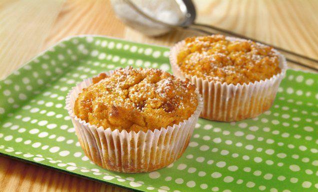 Kochen Sie mit uns: Kürbis-Ingwer-Muffins