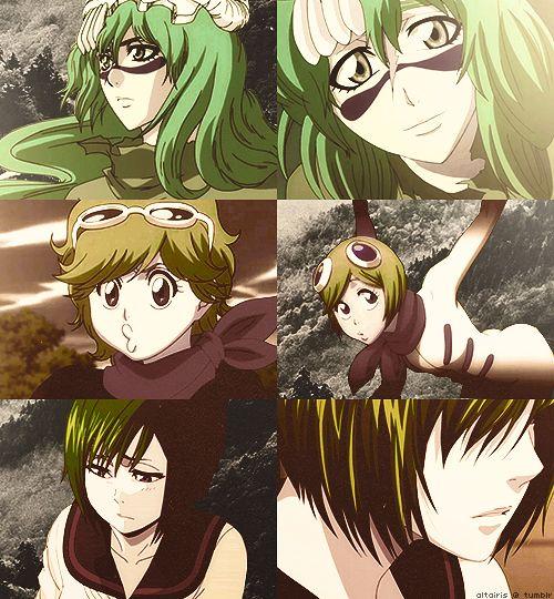 Nel, Mashiro, Nozomi,