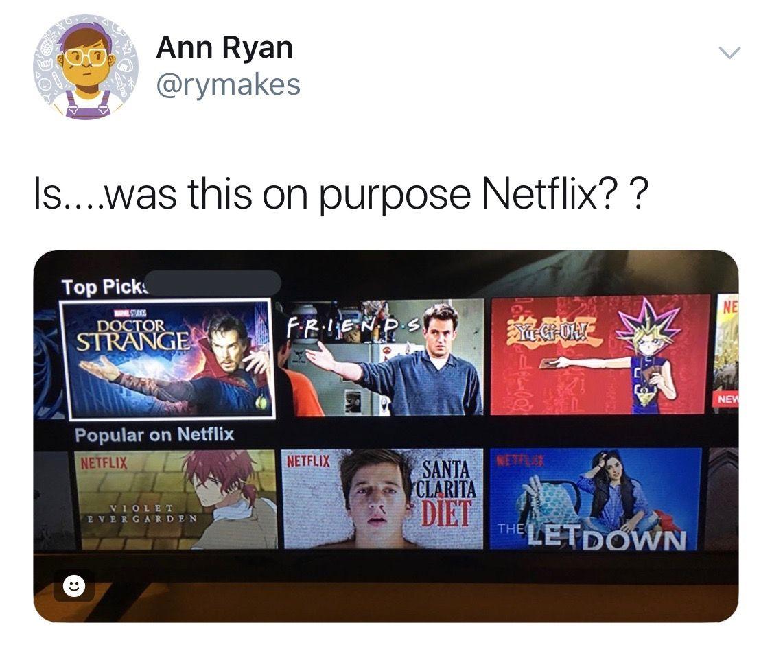 Pin by Caroline Apel on Netflix Rehab Movie memes, Funny