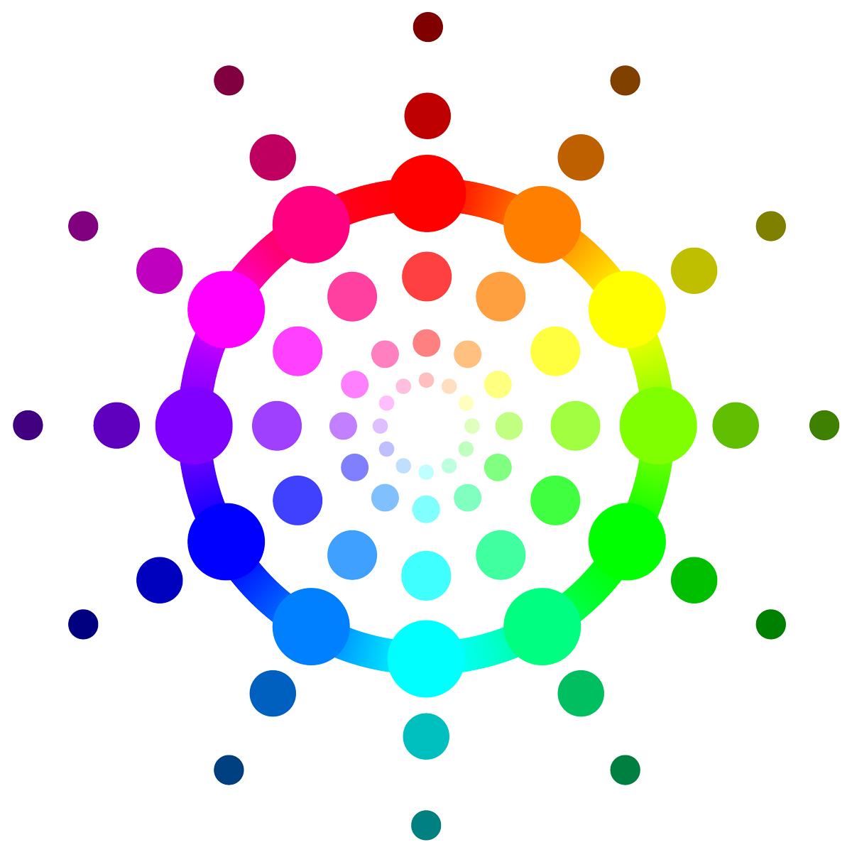 Rgb Color Wheel Hex Values Printable Blank Rh Com RGB