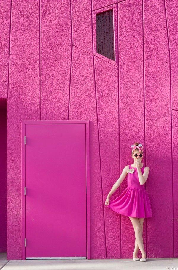 ピンク ショッキング