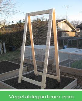Garden Trellis Ideas For A Vegetable Garden Garden Pinterest - Vegetable garden trellis ideas
